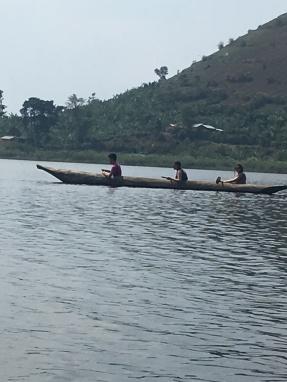 Vicky's canoe
