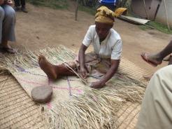 Weaving a mat