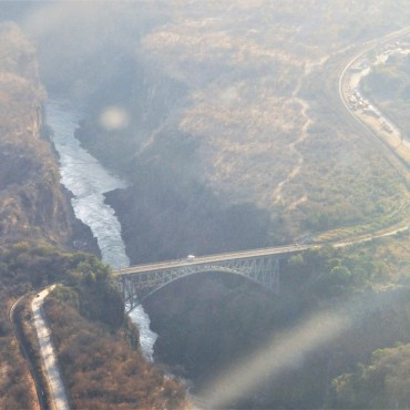 Bridge from Zambia to Zimbabwe
